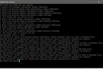 "Ubuntu 18.10 上如何解决""Ubuntu Cosmic repository does not have a release file""的问题"