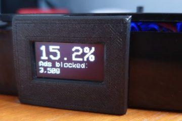 用OLED12864显示Pi-Hole的运行状态