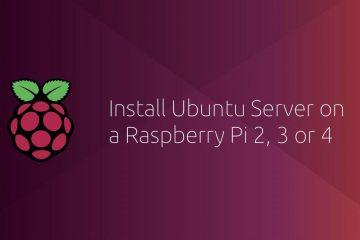 树莓派安装Ubuntu 20.04 LTS并配置